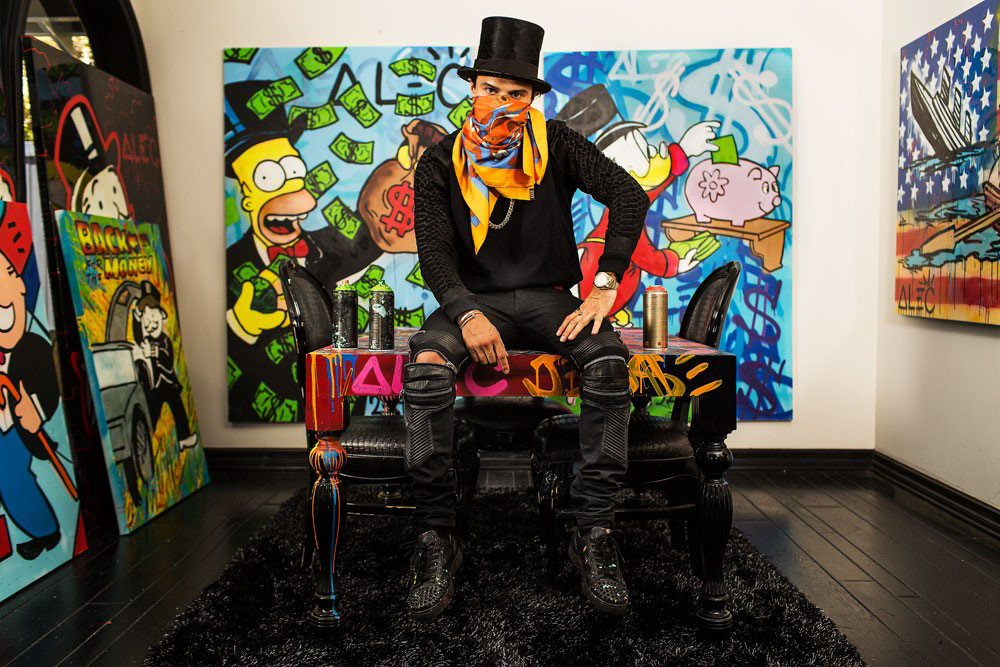 Alec Monopoly portrait 2 - Участник Dnepr Fashion Weekend - ANNAMUZA