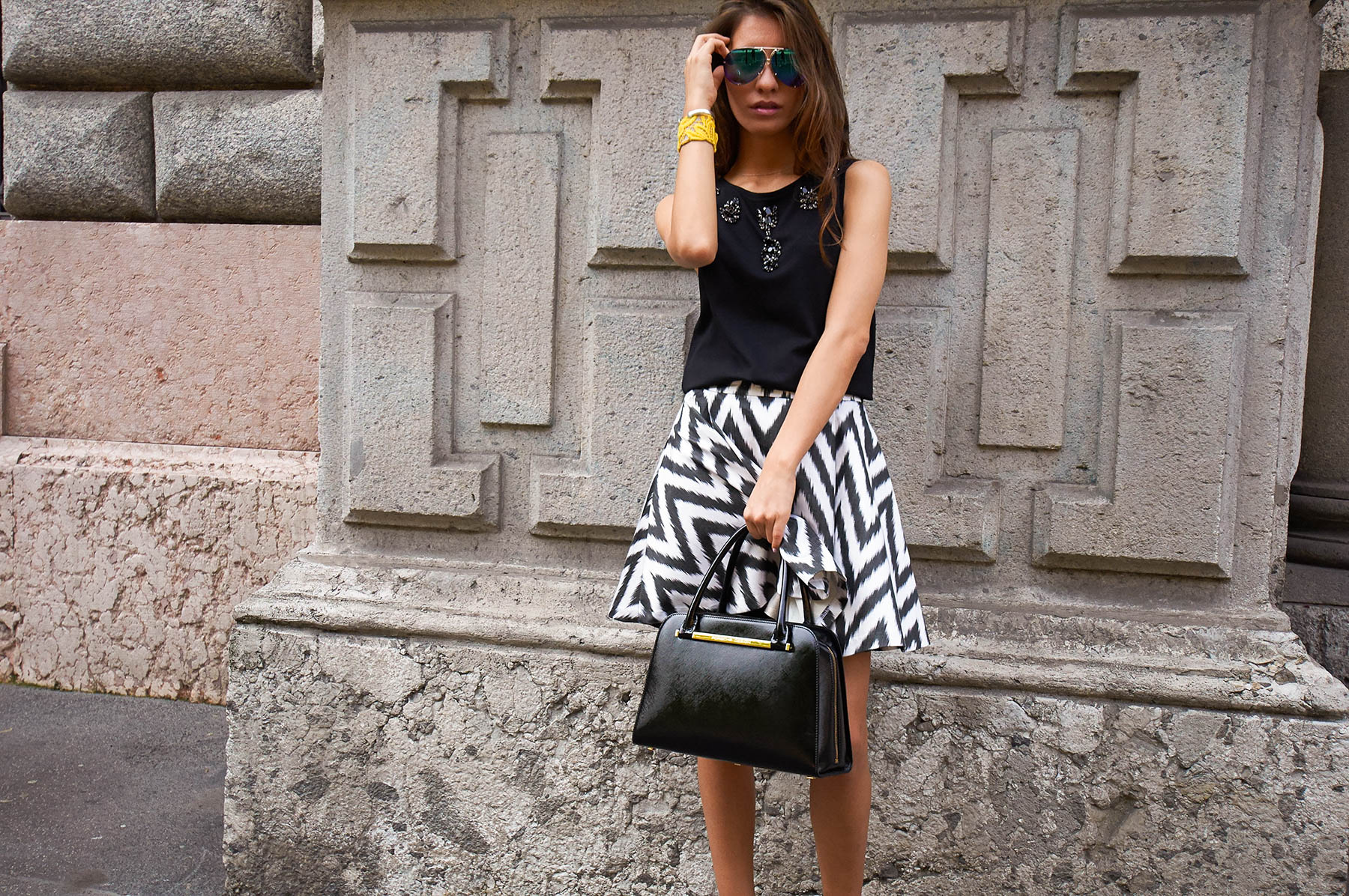 fashion blogger dodo said moelbosh skirt 12 - Танцуют все: рекламная кампания Dior
