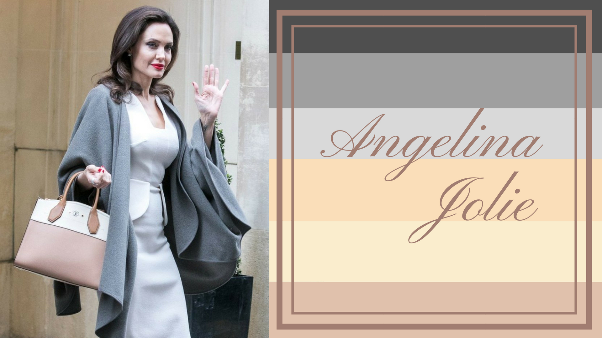 Angelina Jolie - Hugo Boss: коллекция весна-лето 2019