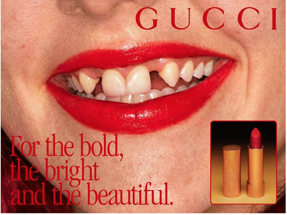 Знімок екрана о 14.58.22 - Скандальная рекламная компания GUCCI Beauty взорвала интернет