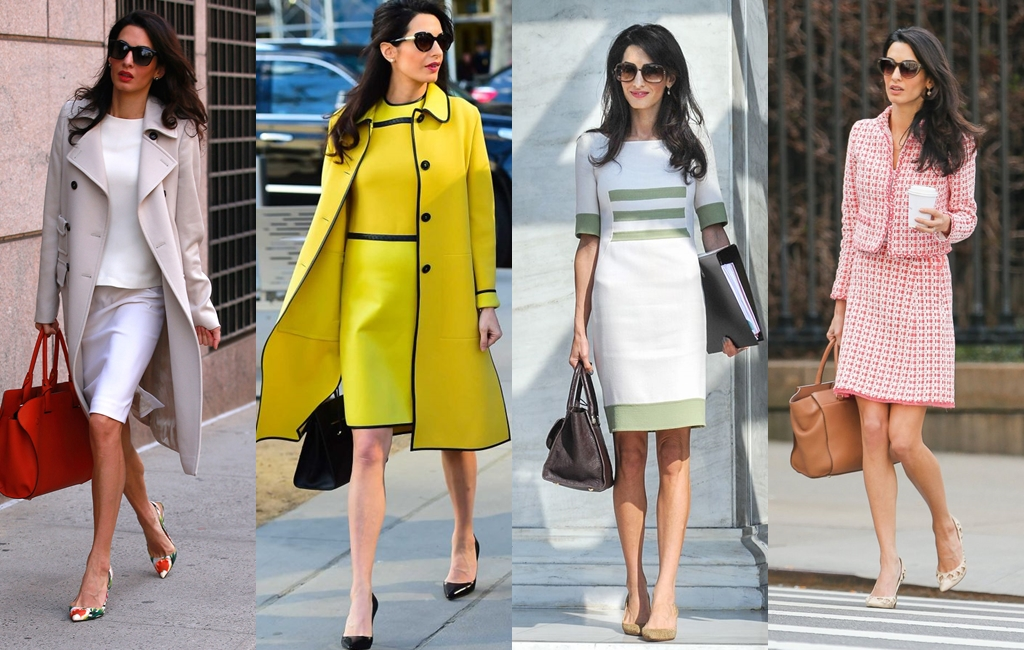 Amal Clooney does work style perfectly on kamdora 1 - Бунтарь в классике: Burberry Pre-Fall 2019