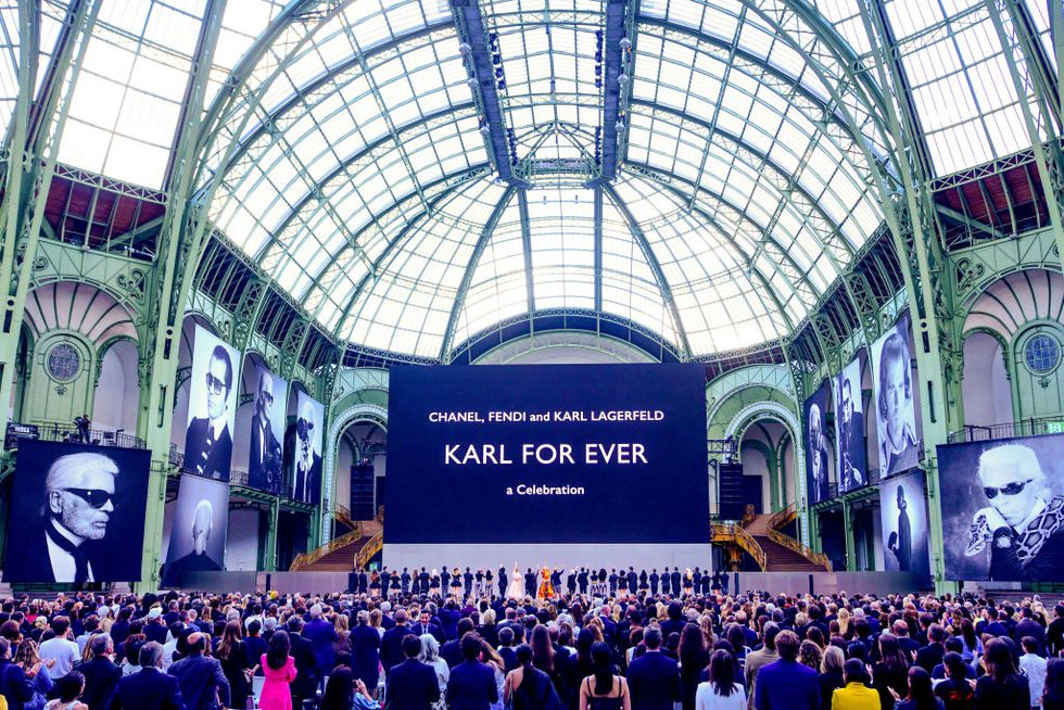 Atmosphere For Karl For Ever Tribute To Karl Lagerfeld At News Photo 1157361810 1561228712