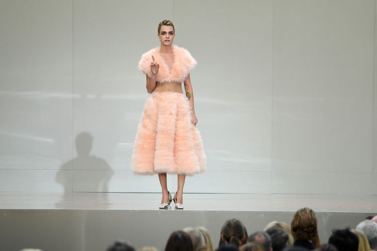Cara Delevingne Speaks On Stage During The Karl Lagerfeld News Photo 1157200371 1561136850