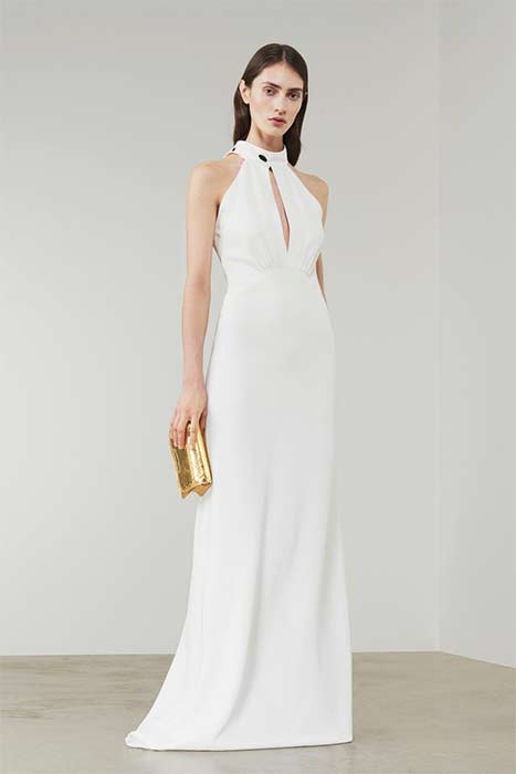 Victoria Beckham Halterneck Wedding Dress Z