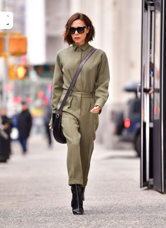 Victoria Beckham Boilersuit Style