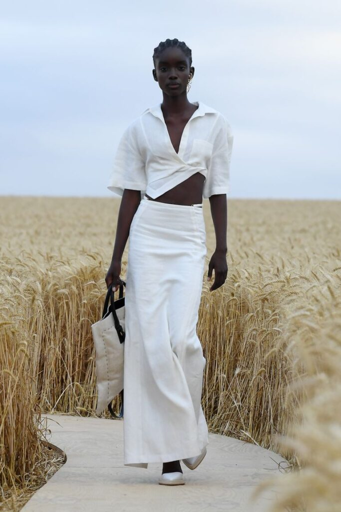 Model Walks On The Runway During Lamour Jacquemus Spring News Photo 1594978106
