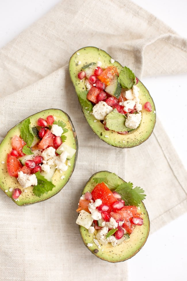 Stuffed Avocados Healthy