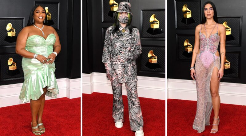 Grammys 2021 Red Carpet